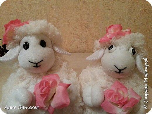 Игрушка Мастер-класс Новый год Моделирование конструирование Шитьё Овечки всякие нужны  овечки всякие важны  часть 2 Капрон Мех Нитки фото 31