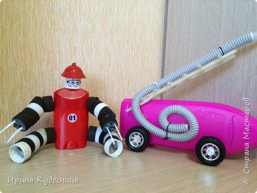 Машины из бросового материала для детей