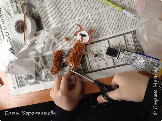 Уже начали готовиться к Новому году. Сделали замечательных козочек на прищепках, благодаря великолепному мастер-классу. Огромное спасибо мастеру Анне! фото 8