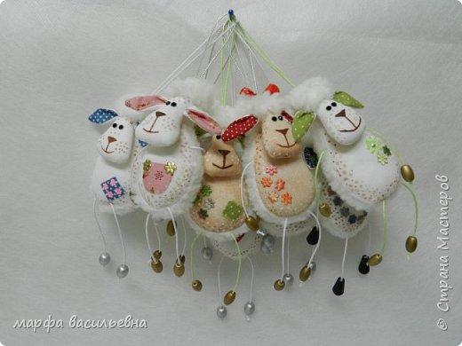 Добрый всем вечерочек.Вот нашила овечек целый килограмм.Они на вид простые,но возни с ними.Но возня приятная. фото 1