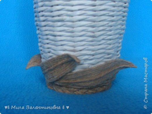 Сердечно Вас всех приветствую, соседи и дорогие друзья! Сделала еще одну вазочку с джутом, может кому то моя идея понравится и Вы украсите такой вазочкой свои полочки! фото 7