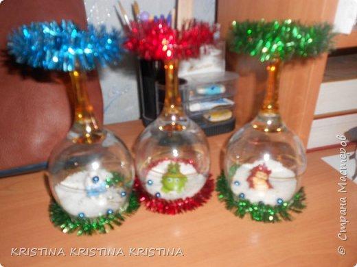 Декор предметов Новый год Подсвечник на Новый год фото 1