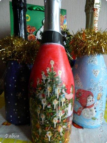 Новогодние бутылочки фото 3