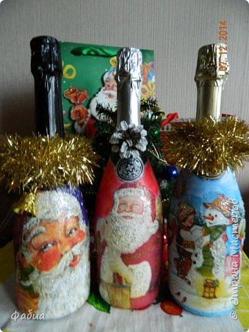 Новогодние бутылочки фото 2