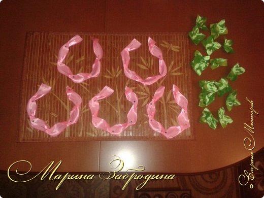 Розы из атласных лет 2 фото 1