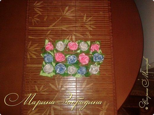 Розы из атласных лет 2 фото 4