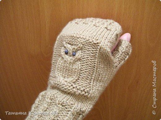 """针织手套""""猫头鹰"""" - maomao - 我随心动"""