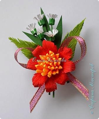 Вот такие пушистые хризантемы я делала для юбилейной открытки для мамы. http://stranamasterov.ru/node/836138 Идею мастер-класса подсказала Валентина Петровна. Возможно кому-то еще пригодится. фото 11