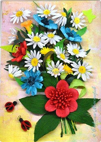 Вот такие пушистые хризантемы я делала для юбилейной открытки для мамы. http://stranamasterov.ru/node/836138 Идею мастер-класса подсказала Валентина Петровна. Возможно кому-то еще пригодится. фото 15