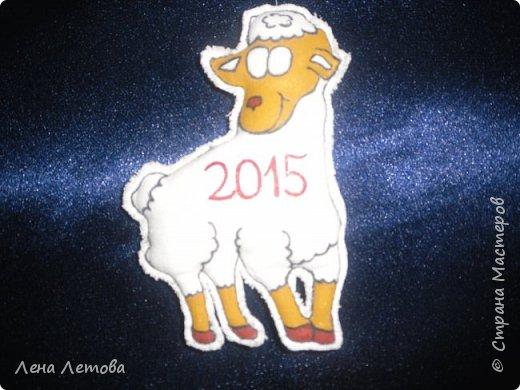 Мастер-класс Поделка изделие Новый год Шитьё Сувениры-магнитики МК фото 13
