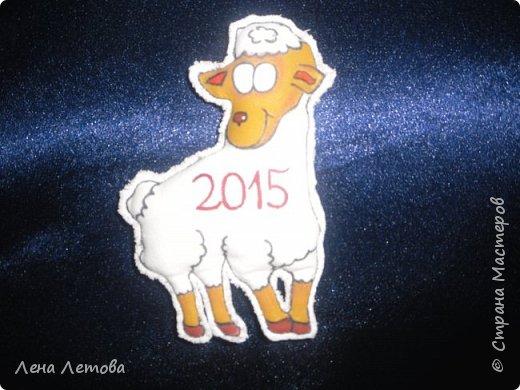 Мастер-класс Поделка изделие Новый год Шитьё Сувениры-магнитики МК фото 14