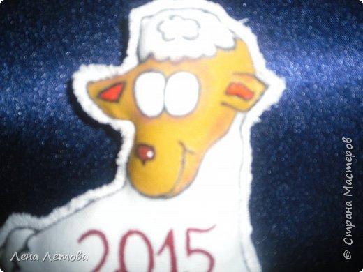 Мастер-класс Поделка изделие Новый год Шитьё Сувениры-магнитики МК фото 15