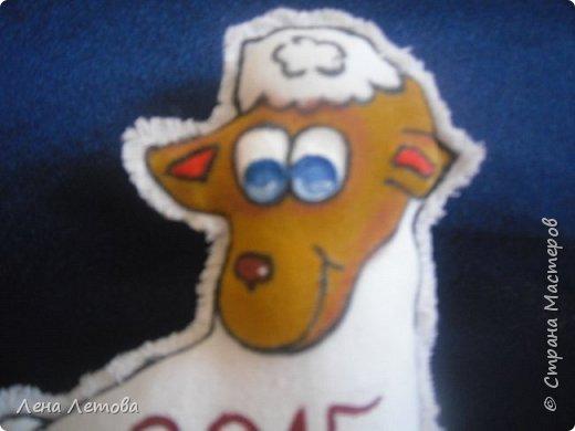 Мастер-класс Поделка изделие Новый год Шитьё Сувениры-магнитики МК фото 16