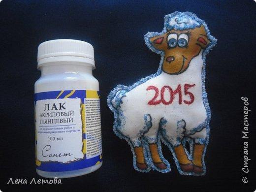 Мастер-класс Поделка изделие Новый год Шитьё Сувениры-магнитики МК фото 21