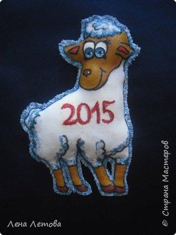 Мастер-класс Поделка изделие Новый год Шитьё Сувениры-магнитики МК фото 2