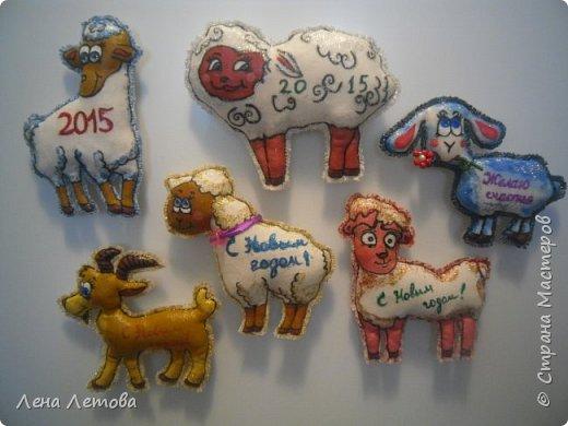 Мастер-класс Поделка изделие Новый год Шитьё Сувениры-магнитики МК фото 23