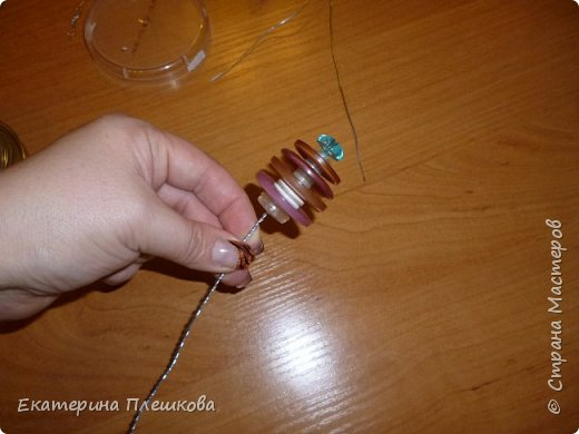 Ёлочка -пуговка. фото 10