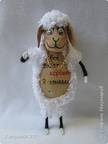 Здравствуй, любимая Страна.  В семействе моих овец пополнение, вчера родились шесть замечательных бешек:-)  Все с характером, всех очень люблю, поэтому фото будет много:-) За основу взяла идею Ольги Чиркуновой https://stranamasterov.ru/node/817879?c=favorite, огромное ей спасибо! фото 7