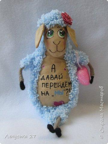 Здравствуй, любимая Страна.  В семействе моих овец пополнение, вчера родились шесть замечательных бешек:-)  Все с характером, всех очень люблю, поэтому фото будет много:-) За основу взяла идею Ольги Чиркуновой https://stranamasterov.ru/node/817879?c=favorite, огромное ей спасибо! фото 5