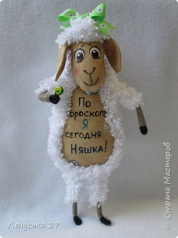 Здравствуй, любимая Страна.  В семействе моих овец пополнение, вчера родились шесть замечательных бешек:-)  Все с характером, всех очень люблю, поэтому фото будет много:-) За основу взяла идею Ольги Чиркуновой https://stranamasterov.ru/node/817879?c=favorite, огромное ей спасибо! фото 2