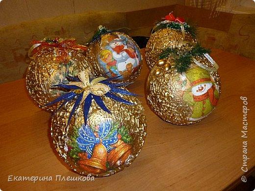 Новогодние шары. фото 2