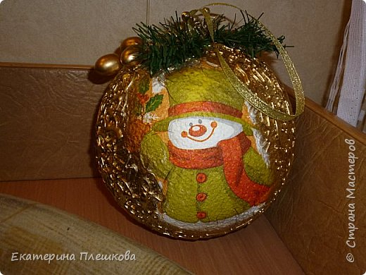 Новогодние шары. фото 8