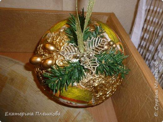 Новогодние шары. фото 9