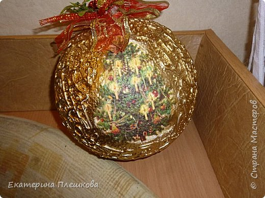 Новогодние шары. фото 10