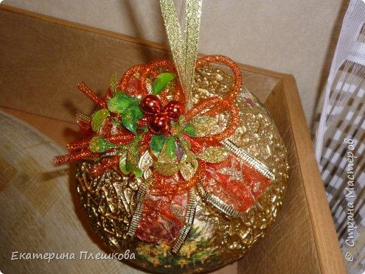Новогодние шары. фото 11