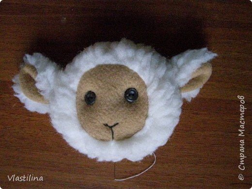 Мастер-класс День рождения Новый год Шитьё Муфточка-овечка Мех Ткань фото 12