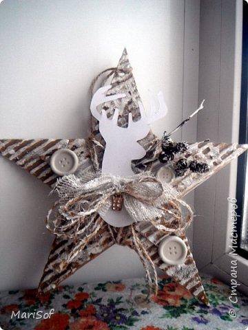 Привет всем! В детском саду проходит конкурс елочной игрушки. Мы с дочкой долго выбирали, и решили сделать звезду.  фото 4