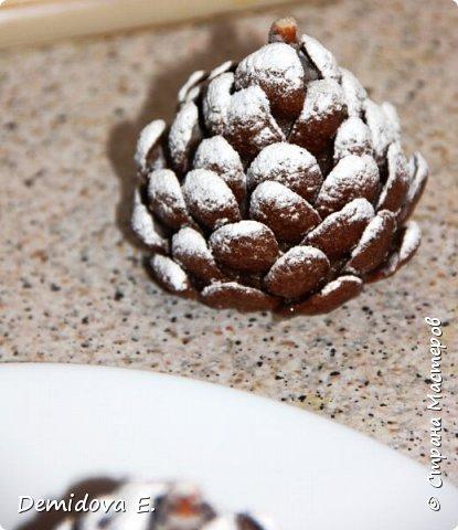 Кулинария Мастер-класс Новый год Рождество Рецепт кулинарный Сладкая Новогодняя Шишка Продукты пищевые фото 9