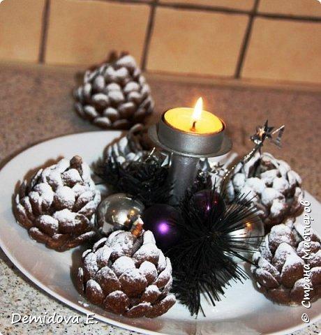 Кулинария Мастер-класс Новый год Рождество Рецепт кулинарный Сладкая Новогодняя Шишка Продукты пищевые фото 1