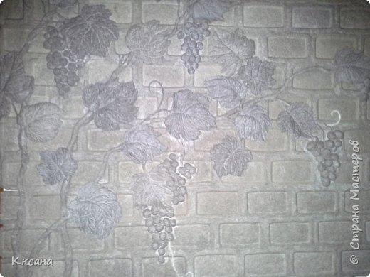 стена на кухне из папье маше фото 9
