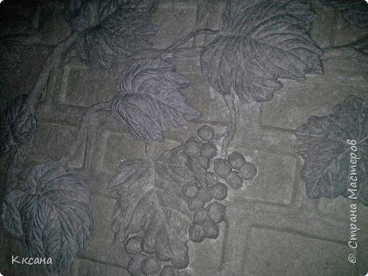 стена на кухне из папье маше фото 12