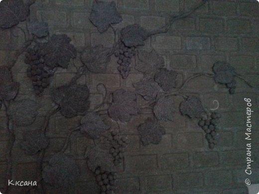 стена на кухне из папье маше фото 14