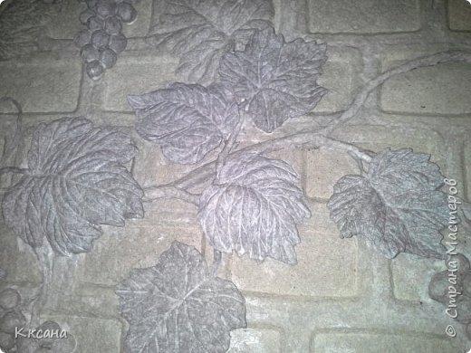 стена на кухне из папье маше фото 17