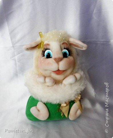 Был малыш в мешочке, стала - овечка в мешочке ))) фото 2