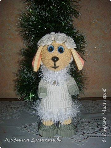 Принимайте в свой хоровод и мою модницу. Делала овечку по МК елены Жуковой https://stranamasterov.ru/node/854608?c=favusers   фото 5