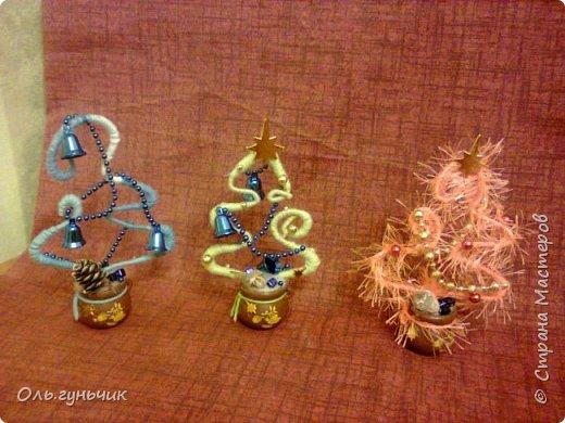 Здравствуйте всем!!!! Хочу поздравить всех с наступающими новогодними праздниками и показать очередные мои елочки))) Первые вот тут: https://stranamasterov.ru/node/848394 фото 11