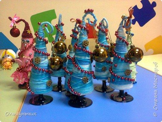 Здравствуйте всем!!!! Хочу поздравить всех с наступающими новогодними праздниками и показать очередные мои елочки))) Первые вот тут: https://stranamasterov.ru/node/848394 фото 28