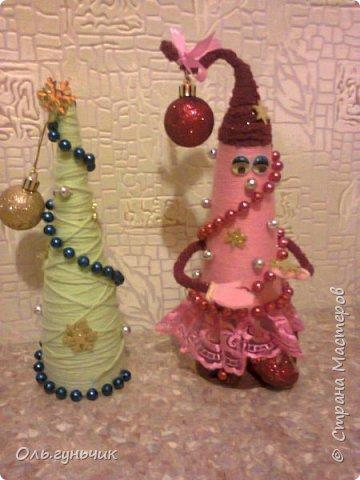 Здравствуйте всем!!!! Хочу поздравить всех с наступающими новогодними праздниками и показать очередные мои елочки))) Первые вот тут: https://stranamasterov.ru/node/848394 фото 30