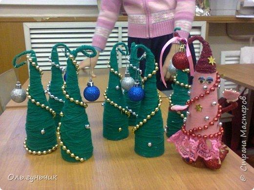 Здравствуйте всем!!!! Хочу поздравить всех с наступающими новогодними праздниками и показать очередные мои елочки))) Первые вот тут: https://stranamasterov.ru/node/848394 фото 31
