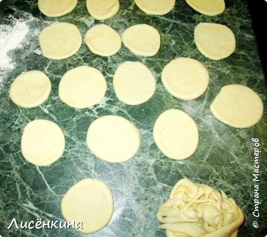 Кулинария Мастер-класс Рождество Рецепт кулинарный  ХРИЗАНТЕМА мясной пирог Тесто для выпечки фото 7