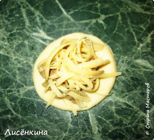Кулинария Мастер-класс Рождество Рецепт кулинарный  ХРИЗАНТЕМА мясной пирог Тесто для выпечки фото 8
