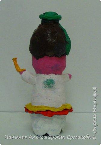 Поделка изделие Рождество Моделирование конструирование Рождественский Ангел своими руками  Бутылки пластиковые Пластилин фото 7