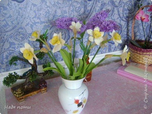 Очень хочу добиться схожести с натуральными цветочками.Девочки дайте свои замечания,что не так ,ведъ самой не все видно. фото 5