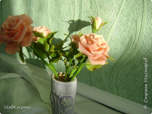 Очень хочу добиться схожести с натуральными цветочками.Девочки дайте свои замечания,что не так ,ведъ самой не все видно. фото 3