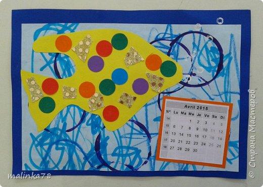 Сделили с детьми вот такой альбом-календарь родителям в подарок на Новый год. Делали долго в течении 4 месяцев, начали в сентябре. Надеюсь наша идея вам понравилась. фото 6