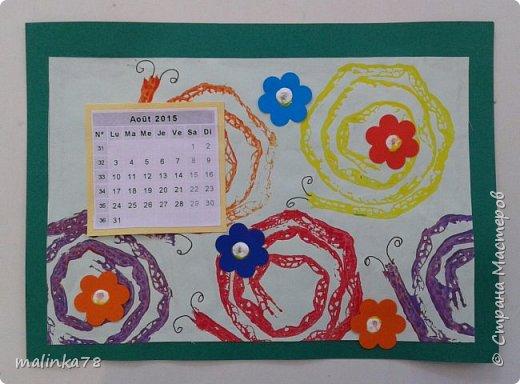 Сделили с детьми вот такой альбом-календарь родителям в подарок на Новый год. Делали долго в течении 4 месяцев, начали в сентябре. Надеюсь наша идея вам понравилась. фото 10